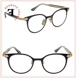 GUCCI 0068 Titanium Black Gold RX Eyeglasses Optical Frame G