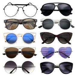 10 Pairs Bulk Lot Wholesale Women Sunglasses Fashion Eyeglas
