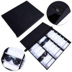 18 Slot Eyeglass Sunglasses Glasses Storage Display Grid Sta