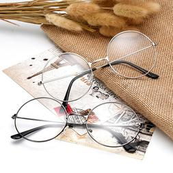 Tinksky 1PC Eyeglasses Round Clear Retro Prop Lens for Hallo