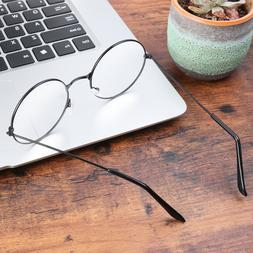 Tinksky 1PC Eyeglasses Unisex Clear Retro Supplies Prop Lens