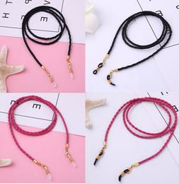 2 pieces Fashion Glasses Chain- Eyeglasses Holder Strap Cord