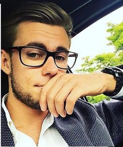 2018 Fashion <font><b>Women</b></font> Glasses Frame Men Bla