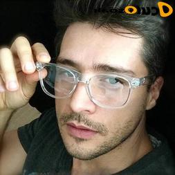 2019 Retro men's Transparent glasses clear lenses PC Comotue