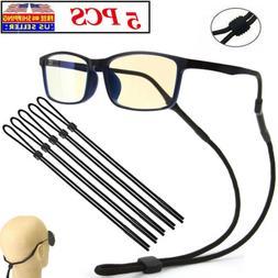 2x Glasses Strap Neck Cord Sports Eyeglasses Band Sunglasses