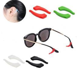 4 Pair Anti Slip Glasses Ear Hooks Tip Eyeglasses Grip Templ