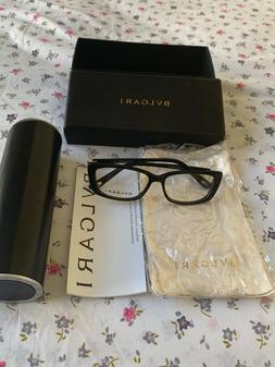 Bvlgari 4001-B 501 Women's Transparent Rx Eyeglasses Frames