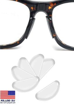 5 Pairs Anti-slip silicone Stick On Nose Pads For Eyeglasses