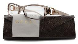GUCCI GG3553 Eyeglasses Frame Mauve Beige  3553 Q7O 52mm Aut