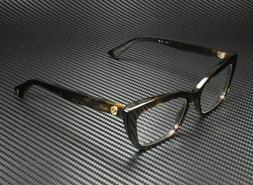 Gucci GG0165O 002 Eyeglasses Dark Havana Brown Cat Eye Rx Fr