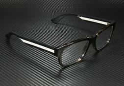Gucci GG0343O 008 Eyeglasses Havana Brown Black White Frame