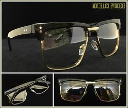 Mens Classy Elegant Retro Style Clear Lens EYE GLASSES Squar