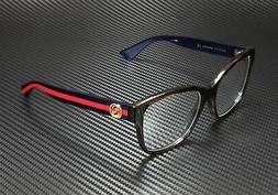 *NEW AUTHENTIC* GUCCI GG0038O 003 AVANA BLUE EYEGLASS FRAME,