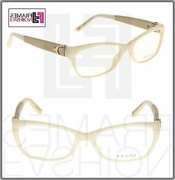 NEW AUTHENTIC GUCCI IVORY ICE OPTICAL FRAME GG3639 0YA 53 16