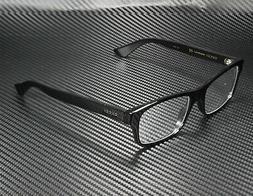NEW Authentic GUCCI Mens Black Black Transparent Eye Glasses