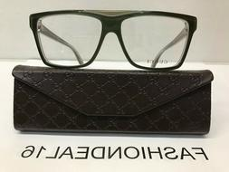 New GUCCI Authentic w/TAGS Green GG3545 5MO 55mm Eyeglasses