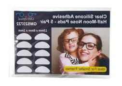 GMS Optical 3M Adhesive Silicone Nose Pads for Eyeglasses -