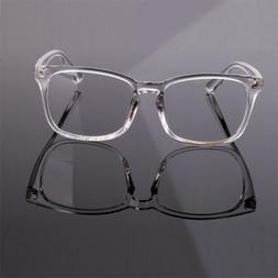 Agstum Womens Men Plain Eyeglasses Clear Lens Full Rim Optic