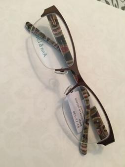 Ana & Luca Adrianna Brown Eyeglasses 51-17-135 Wow!