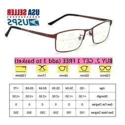 Anti Blue Light Reading Glasses Progressive Multifocal Presb