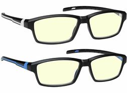 Anti Glare Computer Reading Glasses Blue Light Blocking Redu
