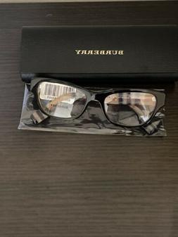 Authentic, Burberry BE 2302 3806 Black Women's Eyeglasses Fr