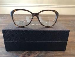 Authentic Prada Eyeglasses PR 28S-FV Eye Size 54 Havana
