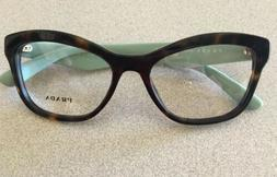 Authentic Prada Eyeglasses VPR 29R 2AU-101 Havana
