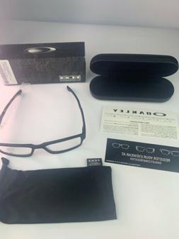 AUTHENTIC Oakley OX8046-0157 Airdrop Satin Black Eyeglasses