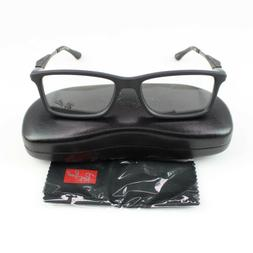 authentic ray ban matte black eyeglasses rx7023