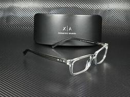 Armani Exchange AX3007 8235 TRANSPARENT CRYSTAL DEMO LENS 53