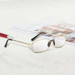 Bifocal Reading Glasses High Quality Metal Full-Frame Men Ey
