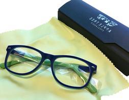 Blocking Blue Light &Harmful UV Eyeglasseswith Clear Lens