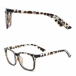 TIJN | Blue Light Blocking Glasses | Square Nerd Eyeglasses