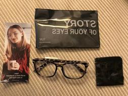 Brand New TIJN Blue Light Blocking Glasses Tortoise Nerd Eye