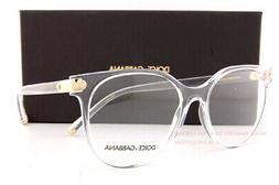 Brand New Dolce & Gabbana Eyeglass Frames DG 5032 3133 Cryst