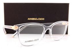 Brand New Dolce & Gabbana Eyeglass Frames DG 5036 3133 Cryst