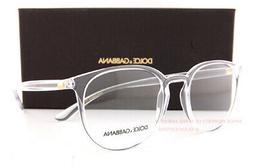 Brand New Dolce & Gabbana Eyeglass Frames DG 5033 3133 Cryst