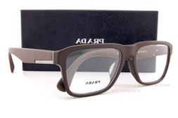 Brand New Prada Eyeglass Frames 04S 04SV TFD 1O1 Matte Brown
