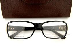 Brand New GUCCI Eyeglass Frames 3603 D28 Black 54mm For Wome