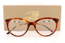 Brand New BURBERRY Eyeglass Frames BE 2244Q 3316 Havana For