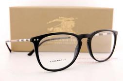 Brand New BURBERRY Eyeglass Frames BE 2258Q 3001 Black For M