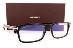 Brand New Tom Ford Eyeglass Frames FT 5663-B 001 Black For M