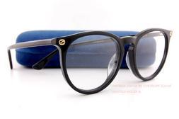 Brand New GUCCI Eyeglass Frames GG 0027/O 001 Black Men Wome