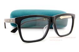 Brand New GUCCI Eyeglass Frames GG 0268/OA  001 Black For Me