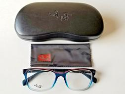 Brand New Ray Ban Women's Tri Gradient Blue-Red Prescription