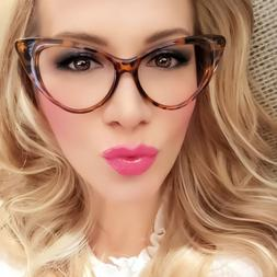 Cat Eye Womens Eyeglasses Clear Lens Nikita Retro Vintage Fa