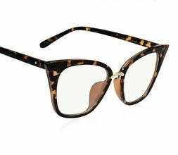 Clear Lens Eyeglasses For Ladies Lovely Eye-wear Accessories