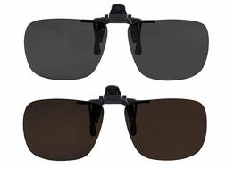 Clip On Sunglasses Flip Up Polarized Sunglasses Clip onto Ey