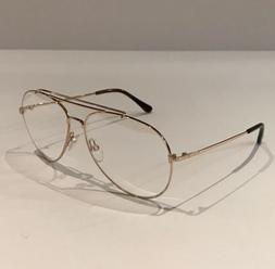 Tom Ford Eyeglass Frame Men's Aviator Indiana TF497 60 mm